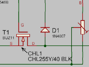 Electronic Fuse Circuit for Power Supply