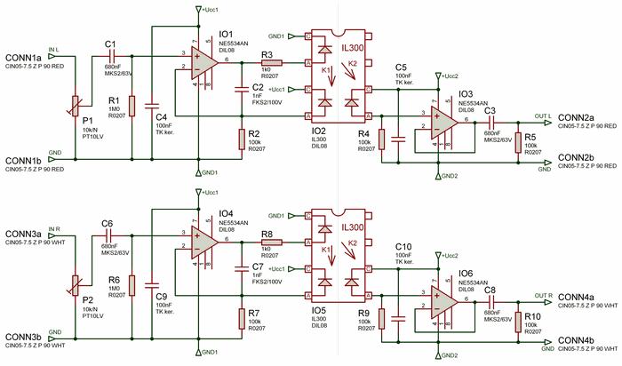 il300-optical-audio-signal-separator-schematic