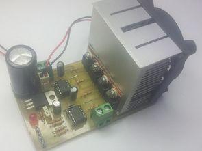 H-Bridge DC motor driver circuit with IR2101