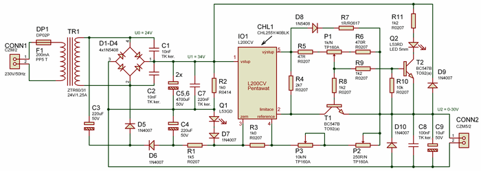 l200-power-supply-circuit-schematic