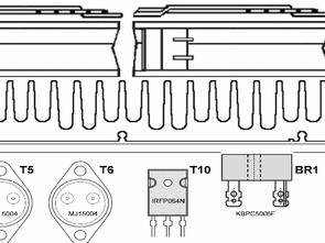 Laboratory  Power Source  LM338 0-30V 30A MJ15004