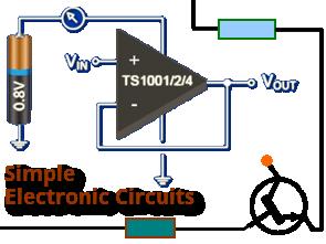 simple dc lamp dimmer circuit