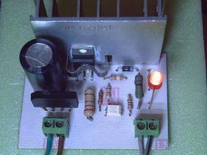 12V 7ah 1.3Ah battery charging regulator circuit with L200