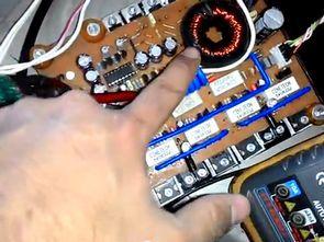 Stereo Car  Amplifier 180 Watt Kenwood kac-716 DC-DC Covverter