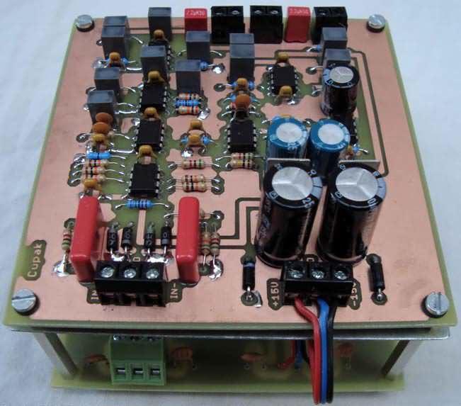 800W Class D Amplifier Circuit IR2110 PWM - Electronics Projects
