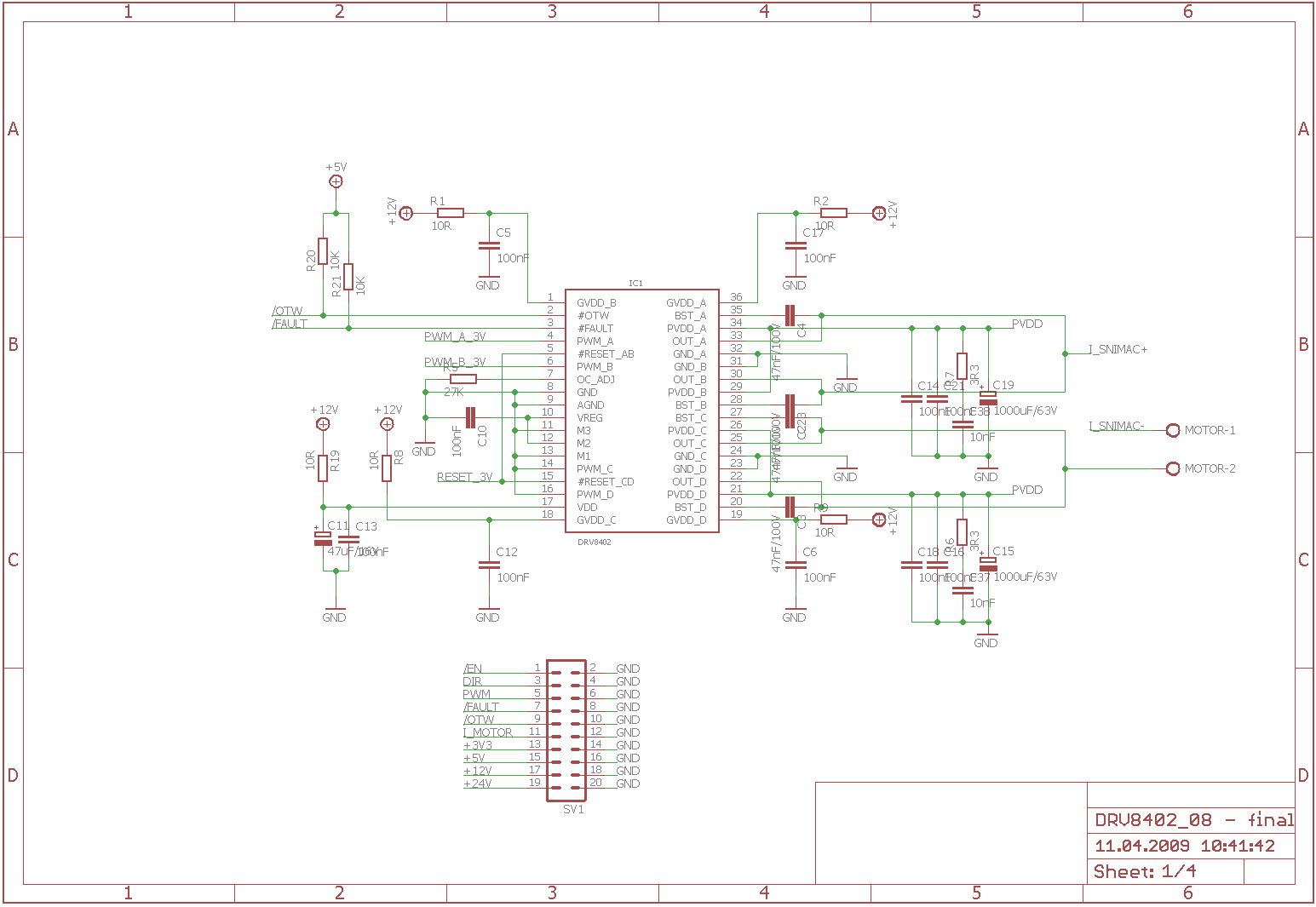 Pwm Driver Circuit For Stepper Motor