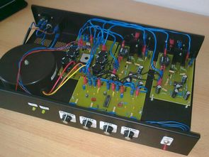 IRS2092 Class D Amplifier Circuit LM1036 Tone Controlled