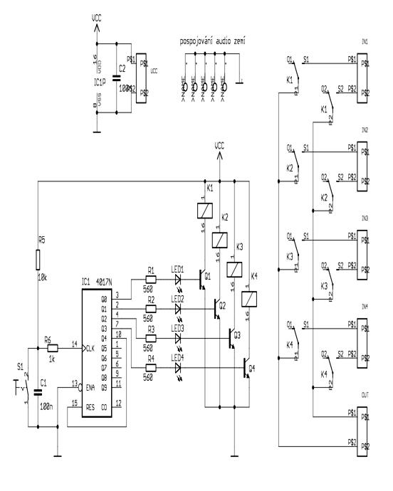 audio input selector circuit
