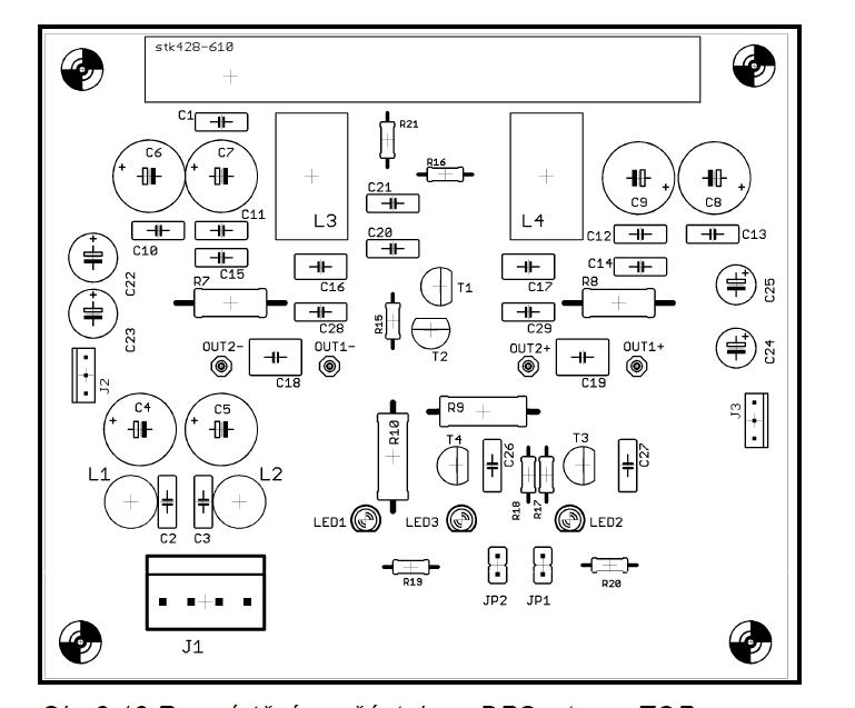stk428-610 amlifier circuit 2x70w hi-fi