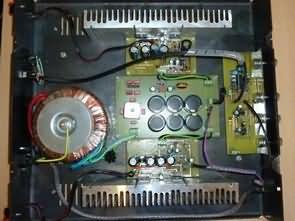 TDA7293 Bridge Amplifier Circuit LM1036 Tone Control