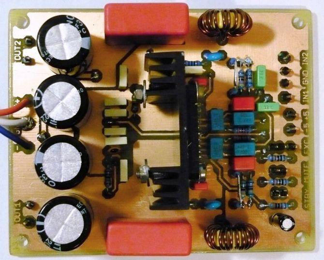 tda7490-pcb-audio-class-d-eagle-amplifier-assembled-pcb-schematic