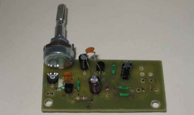 Acoustic Guitar Pickup Circuit Using Tl071 Eleccircuitcom