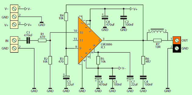 lm3886-application-circuit-schematic