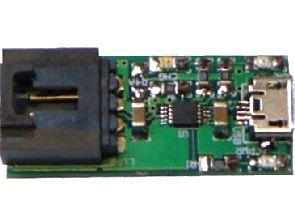 MCP73833 USB powered Li-Po charger  Circuit