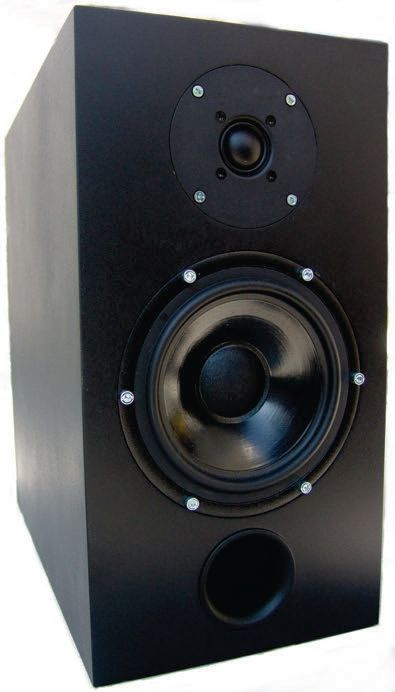 Active Studio Speakers Crossover Class D Amplifier Circuit