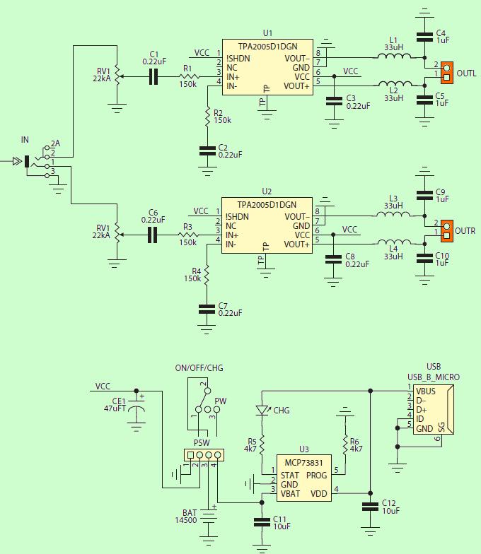 tpa2005-class-d-amplifier-circuit-ic-amplifier