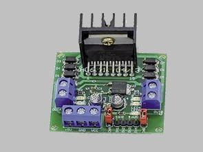 Universal DC Motor Controller L298 Circuit