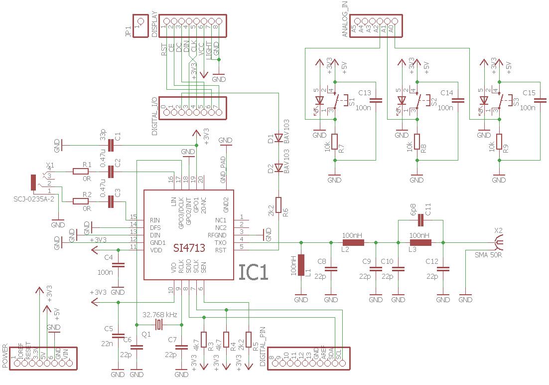 Incredible Arduino Uno Fm Am Transmitter Circuit Si4713 Electronics Projects Wiring 101 Vihapipaaccommodationcom