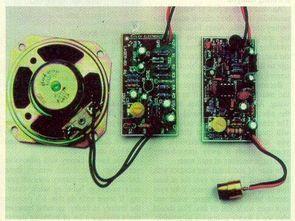 Laser Sound Transmission Circuit