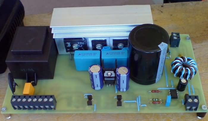 Stereo Vu Booster Circuit Using Transistors