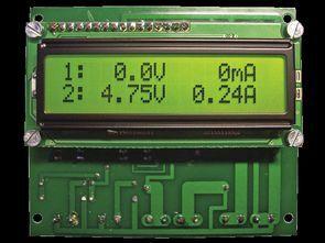 Dual LCD Voltmeter Ammeter 0.100 VDC 0.10 A DC ATMEGA8