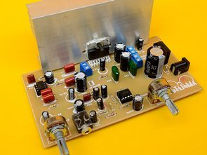 Amplifier 2.1 with TDA7377
