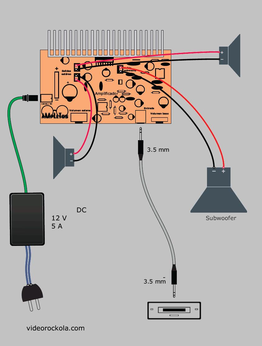 amplifier-connection-diagram-schematic