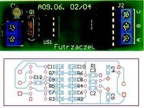 ATTiny25 Three-phase 50 Hz Generator Circuit