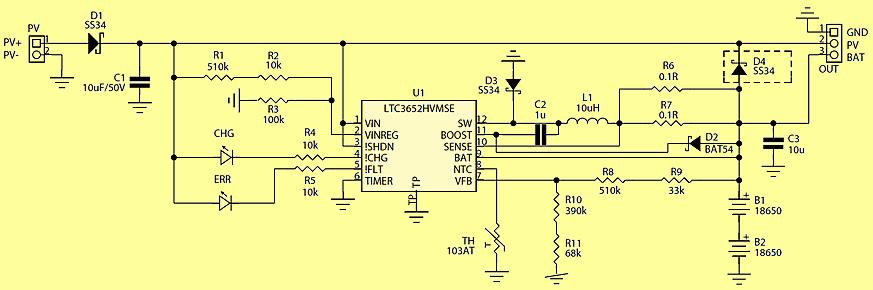 Ltc3652 Solar Battery Charger Lifepo4