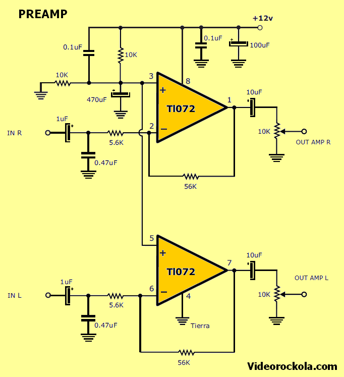 Amplifier 2.1 with TDA7377 - Electronics Projects Circuits