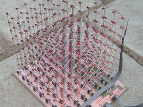 ATMEGA16 Led Cube Circuit