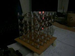 ATmega64 RGB LED Cube Circuit