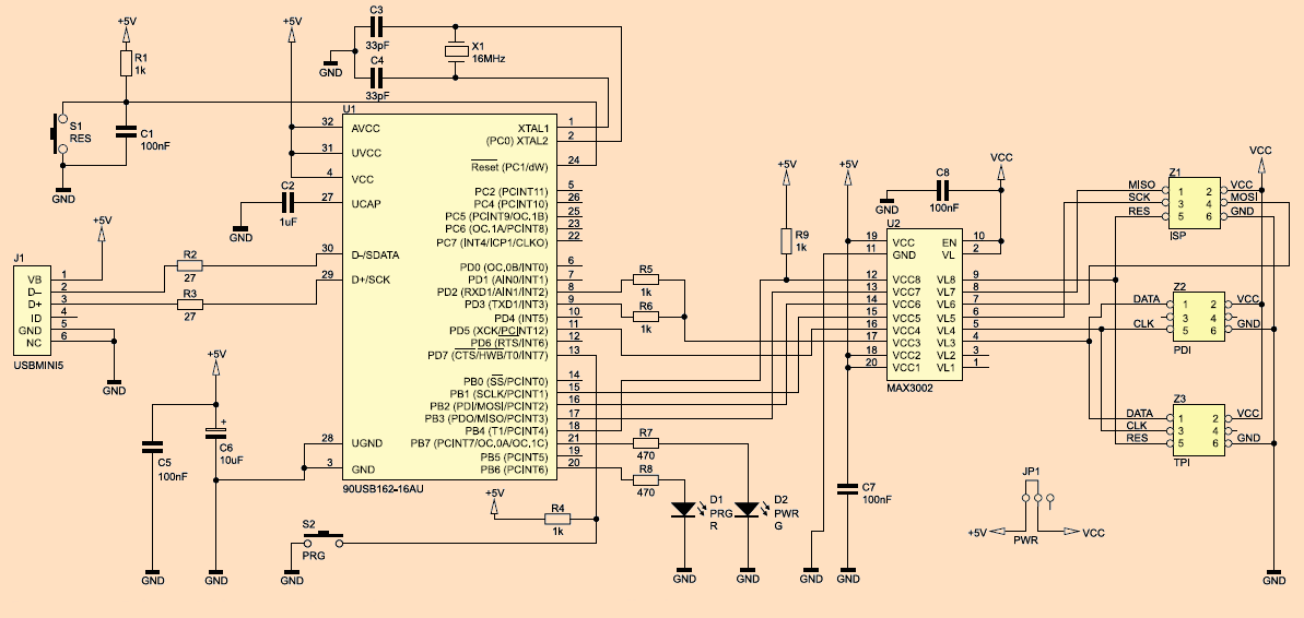 Diagram Generator Avr Circuit