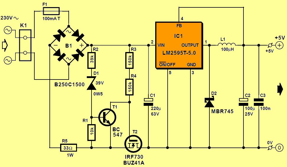 230v-lm2595t-50-dc-dc-5v-1a-circuit-diagram