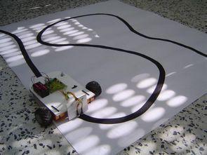 Simple Line Follower Robot Circuit