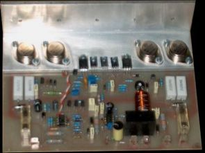 300W Amplifier Circuit MJ15003 MJ15004
