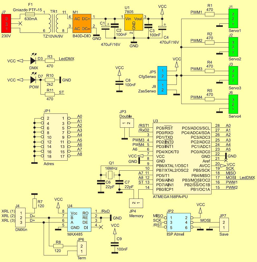 circuit-schematic-dmx-servo-driver-diagram