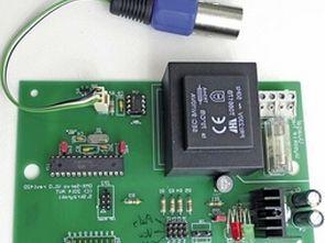 DMX Servo Driver Circuit
