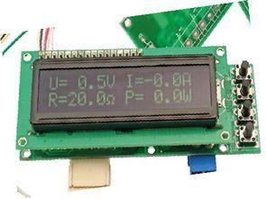 Voltage, Current, Temperature, Power and Load Resistance Measurement