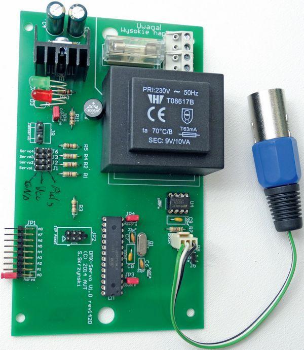 servo-driver-diagram-dmx-interface