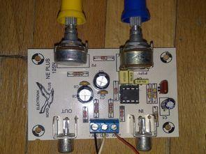 TL072 Active subwoofer filter 80 Hz-250 Hz
