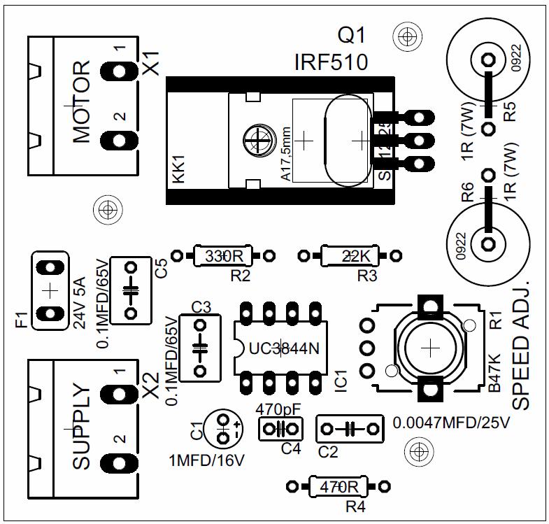 uc3844-motor-speed-controller-pcb-desing