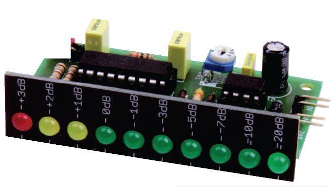 20 Db Vu Meter Circuit Lm3916 Electronics Projects Circuits