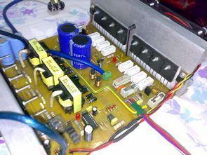 Car Amplifier Circuit  2X300W 500W SG3525 DC DC Converter