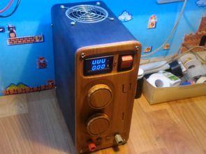 LM317 TIP36C 0-30V 0-5A Laboratory Power Supply