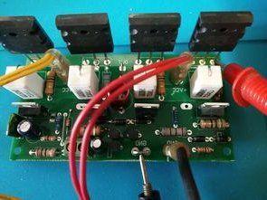 2SA1943 2SC5200  200W Amplifier Circuit
