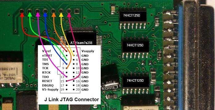 carprog-connect-carprog-to-j-link-programmer