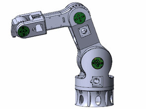 Industrial Robot Arm Project