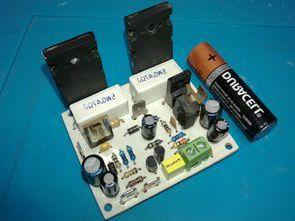 Simple 2SC5200 Transistor Amplifier  100W RMS