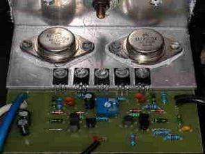 Bộ chỉnh âm 5 dải và mạch Hifi Anfi 100 Watt